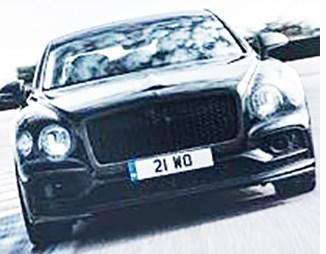 Bentley Flying Spur Gets 4-Wheel Steering