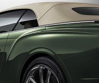 Bentley Drop-Top Adds Tweed Look