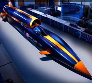 British Entrepreneur Buys Bloodhound Speed Project