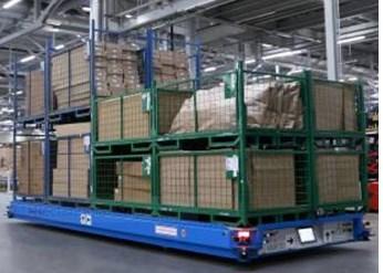 BMW Logistics Center Tests Self-Driving Skiffs