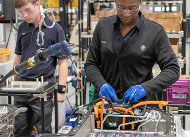 BMW Doubles Battery Capacity at U.S. Plant