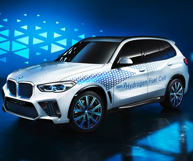 BMW Previews X5-Based Fuel Cell Model