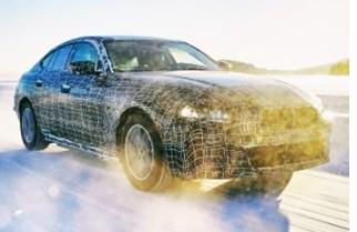 BMW Targets 600-km Range for i4 EV