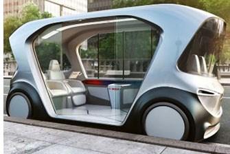 Bosch Showcases Tech in Autonomous Shuttle
