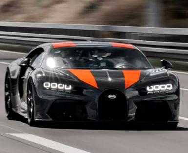 Bugatti Chiron Breaks 300 mph Record