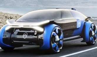 Citroen Mulls Production Possibilities for Massive Concept Tires