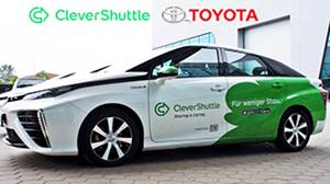 Ride-Hailing Startup Passes 1 Million Miles with Toyota Fuel Cell Cars