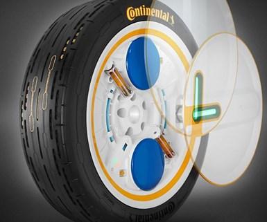 Conti Touts Future Tire Tech