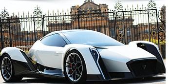 U.K. Startup Taps Former McLaren F1 Designer to Refine Electric Supercar