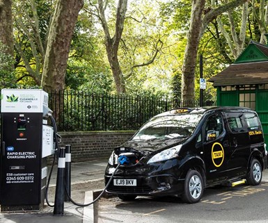 Startup Launches Electric London Black Cab
