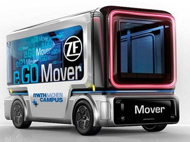 ZF Venture Signs Deal to Supply Automated Electric Shuttles