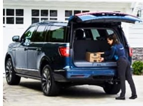 Ford Adds Amazon In-Car Delivery Service
