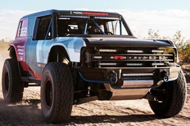 Off-Road Racer Previews 2021 Ford Bronco