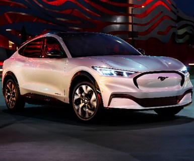 Ford Unveils Electric Mustang Crossover