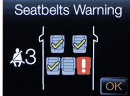 Ford Ranger Gets Seatbelt Reminder Tech