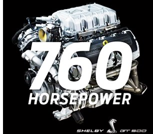 Ford Revs up Mustang Shelby GT500