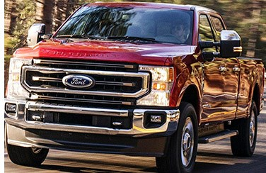 Ford Powers Up Super Duty Pickups