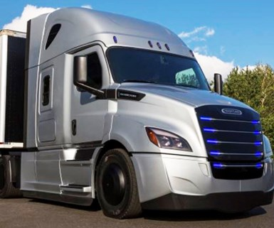 Freightliner Launches Electric Trucks in U.S.