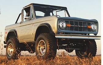 Retrofitter to Build Original Ford Broncos