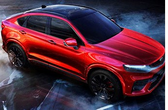 Geely Reveals Volvo-Based Crossover
