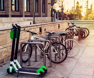 Study Touts Potential of Shared Scooters/Bikes in U.S. Cities
