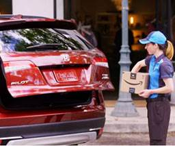 Honda Adds Amazon In-Vehicle Delivery Service