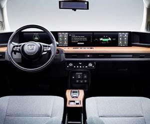 Honda EV Takes Wide View of Digital Displays