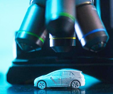VW, HP Test 3D Printing on Miniature Cars