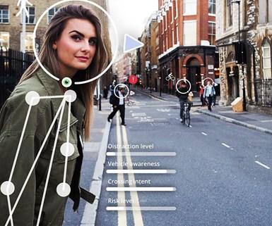 Pedestrian Behavior Software Developer Named Top Startup