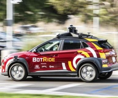 Hyundai to Test Robo-Taxis in California