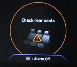 Hyundai to Standardize Rear-Seat Reminder