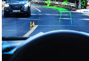 Hyundai Demos Augmented Reality Display