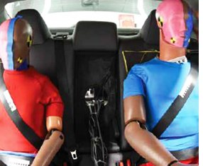 IIHS Calls for Improved Rear-Seat Protection