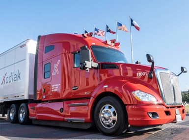 Kodiak Begins Freight Deliveries with Robo-Trucks