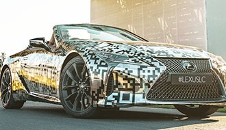 Lexus Confirms LC Convertible Plans