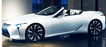 Report: Lexus LC Convertible to be Unveiled in July
