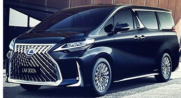 Lexus Unveils Luxury MPV