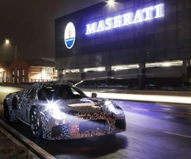 Maserati Touts New Engine Family