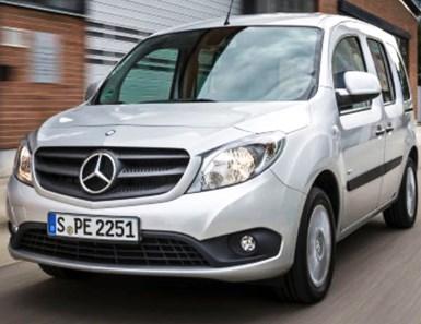 Mercedes to Add Electric Citan Van