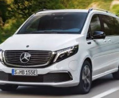 Mercedes Unveils Electric MPV