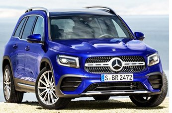 Compact Mercedes Crossover Offers 3rd Row Seating