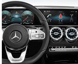 Mercedes Adds In-Car Infotainment Orders