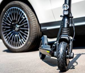 Mercedes Partners with Electric Scooter Company