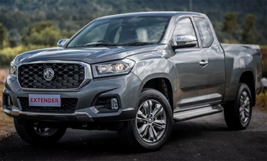 MG Brand Debuts Pickup Truck in Thailand