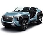 Mitsubishi Hybrid Concept Gets Turbine Generator