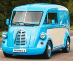 Revived Morris Commercial Readies Electric Van