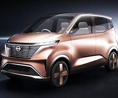 Nissan Unveils Tiny EV Concept
