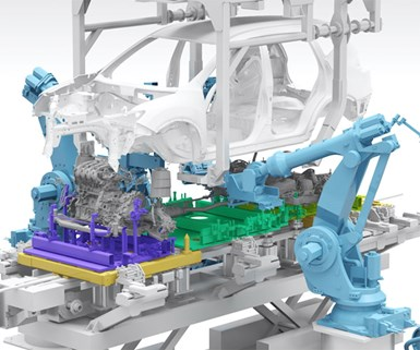 Nissan Touts Automated Powertrain Assembly