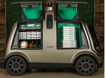 Nuro to Test Autonomous Pizza Delivery with Domino's
