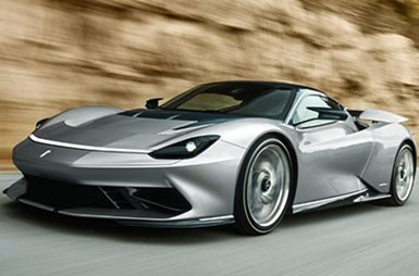 Pininfarina Battista Hits the Road
